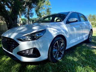 2021 Hyundai i30 PD.V4 MY21 Elite Polar White 6 Speed Sports Automatic Hatchback.