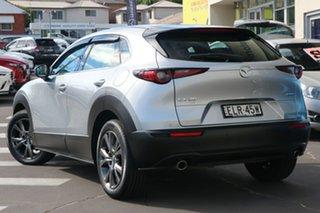 2020 Mazda CX-30 DM4WLA G25 SKYACTIV-Drive i-ACTIV AWD Astina Sonic Silver 6 Speed Sports Automatic.