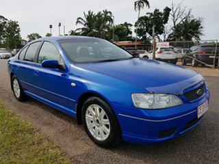 2006 Ford Falcon BF Futura Blue 4 Speed Sports Automatic Sedan.