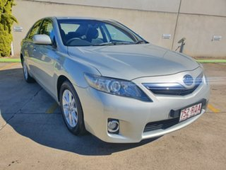 2011 Toyota Camry AHV40R Hybrid Silver 1 Speed Constant Variable Sedan Hybrid.