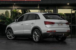 2012 Audi Q3 8U MY13 TDI S Tronic Quattro White 7 Speed Sports Automatic Dual Clutch Wagon.