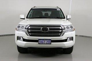 2016 Toyota Landcruiser VDJ200R MY16 Sahara (4x4) White 6 Speed Automatic Wagon.