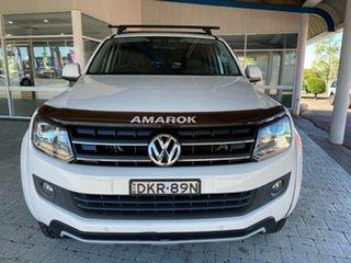 2016 Volkswagen Amarok TDI420 - Atacama White Automatic Dual Cab Utility.