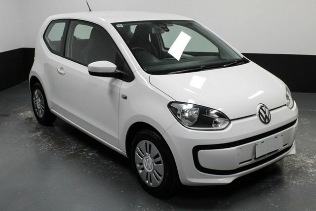 Used Volkswagen UP! Type AA MY13 Cardiff, 2013 Volkswagen UP! Type AA MY13 Candy White 5 Speed Manual Hatchback
