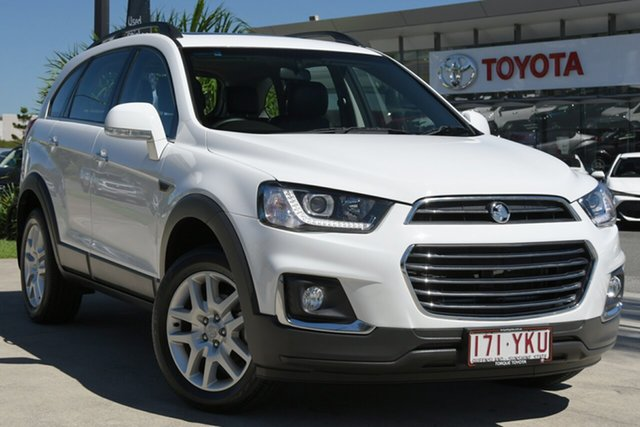 Pre-Owned Holden Captiva CG MY18 Active 2WD North Lakes, 2017 Holden Captiva CG MY18 Active 2WD White 6 Speed Sports Automatic Wagon