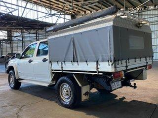 2008 Holden Colorado RC LX Crew Cab White 5 Speed Manual Utility