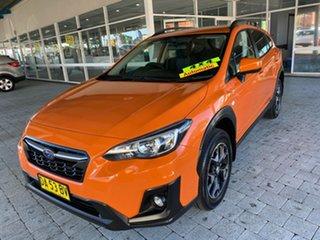 2018 Subaru XV 2.0I Orange Constant Variable Wagon.