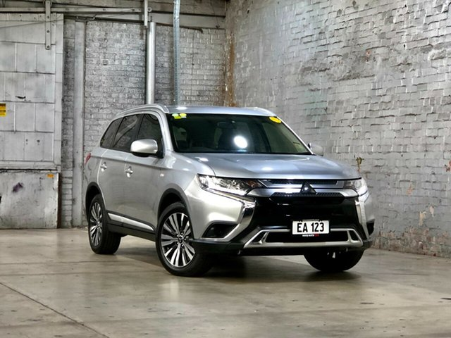 Used Mitsubishi Outlander ZL MY19 ES AWD Mile End South, 2018 Mitsubishi Outlander ZL MY19 ES AWD Silver 6 Speed Constant Variable Wagon