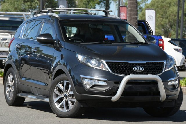 Used Kia Sportage SL MY14 Si 2WD North Lakes, 2015 Kia Sportage SL MY14 Si 2WD Black 6 Speed Sports Automatic Wagon