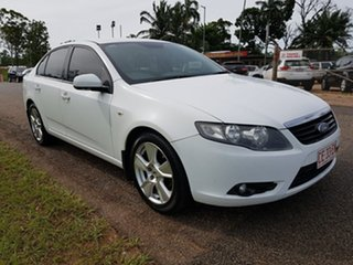 2008 Ford Falcon FG XT White 5 Speed Sports Automatic Sedan.