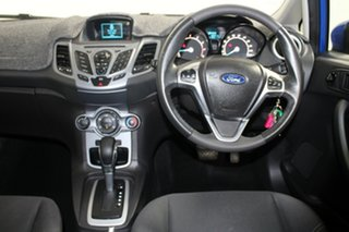 2015 Ford Fiesta WZ MY15 Trend PwrShift Blue 6 Speed Sports Automatic Dual Clutch Hatchback