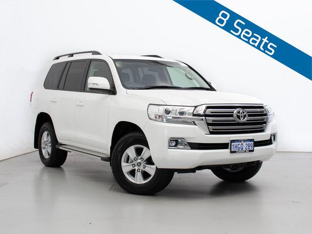 Used Toyota Landcruiser VDJ200R LC200 GXL (4x4), 2020 Toyota Landcruiser VDJ200R LC200 GXL (4x4) White 6 Speed Automatic Wagon