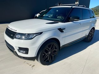 2014 Land Rover Range Rover Sport L494 MY15 HSE White 8 Speed Sports Automatic Wagon.