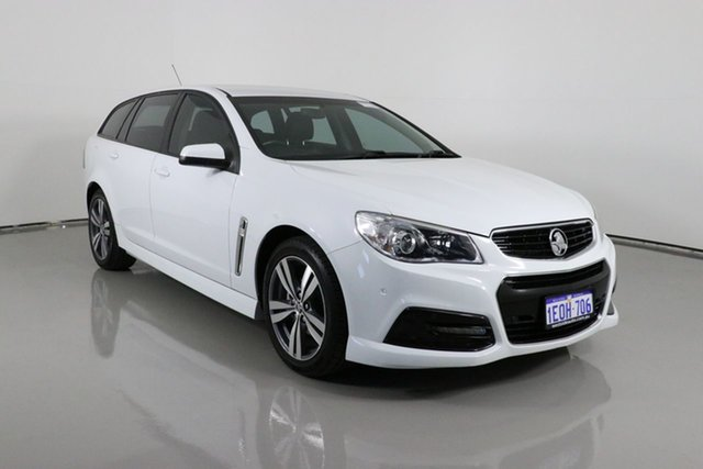 Used Holden Commodore VF II SV6 Bentley, 2015 Holden Commodore VF II SV6 White 6 Speed Automatic Sportswagon
