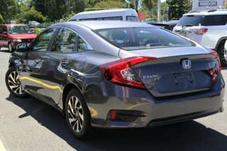 2016 Honda Civic 10th Gen MY16 VTi-S Grey 1 Speed Constant Variable Sedan.