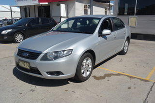 2008 Ford Falcon FG XT Silver 5 Speed Sports Automatic Sedan.