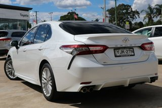 2019 Toyota Camry ASV70R SL Frosted White 6 Speed Automatic Sedan.