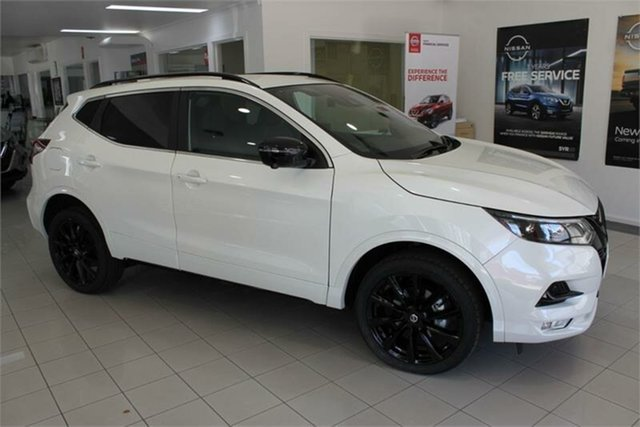 Used Nissan Qashqai Midnight Edition , 2020 Nissan Qashqai J11 Series 3 Midnight Edition Ivory Pearl 1 Speed Constant Variable Wagon