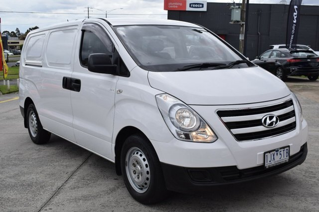 Used Hyundai iLOAD TQ3-V Series II MY17 Ferntree Gully, 2016 Hyundai iLOAD TQ3-V Series II MY17 White 5 Speed Automatic Van