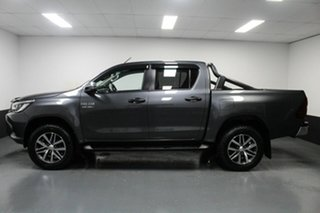 2018 Toyota Hilux GUN126R SR5 Double Cab Grey 6 Speed Manual Utility