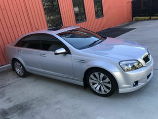 2013 Holden Caprice WM II MY12.5 V Silver 6 Speed Sports Automatic Sedan