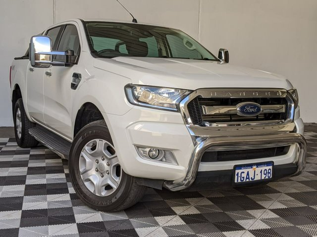 Used Ford Ranger PX MkII XLT Double Cab Victoria Park, 2015 Ford Ranger PX MkII XLT Double Cab White 6 Speed Sports Automatic Utility