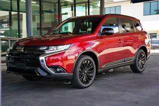 2021 Mitsubishi Outlander ZL MY21 Black Edition 2WD Brilliant Red 6 Speed Constant Variable Wagon