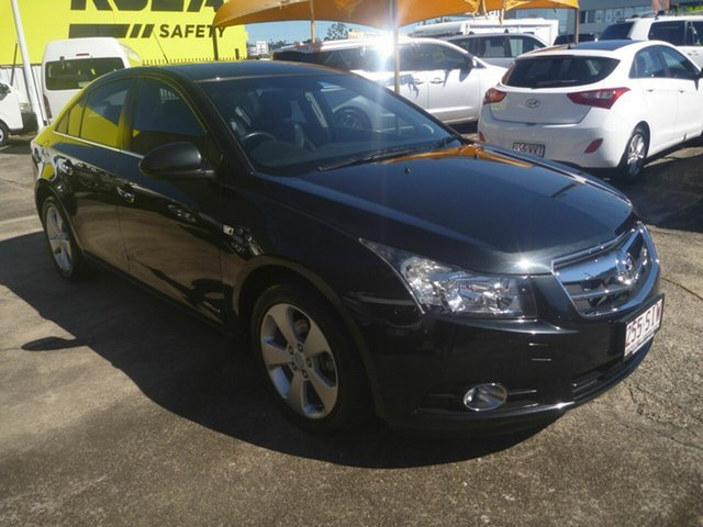 Used Holden Cruze JG CDX Morayfield, 2010 Holden Cruze JG CDX Black 5 Speed Manual Sedan