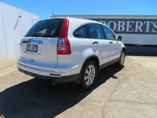 2012 Honda CR-V MY10 (4x4) Limited Edition White 5 Speed Automatic Wagon.