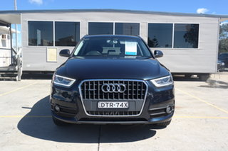 2014 Audi Q3 8U MY14 TFSI S Tronic Quattro Black 7 Speed Sports Automatic Dual Clutch Wagon