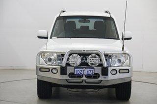 2012 Mitsubishi Pajero NW MY12 GLS White 5 Speed Sports Automatic Wagon.