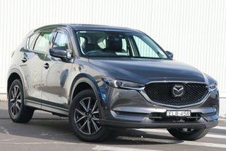 2020 Mazda CX-5 KF4WLA GT SKYACTIV-Drive i-ACTIV AWD Machine Grey 6 Speed Sports Automatic Wagon.