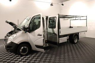 2016 Renault Master X62 Double Cab LWB AMT RWD Silver 6 speed Automatic Cab Chassis