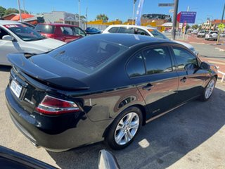 2011 Ford Falcon FG Upgrade XR6 Black 6 Speed Auto Seq Sportshift Sedan.