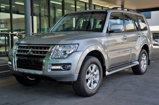 2021 Mitsubishi Pajero NX MY21 GLX Sterling Silver 5 Speed Sports Automatic Wagon