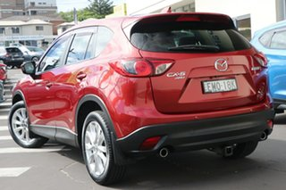 2012 Mazda CX-5 KE1071 Grand Touring SKYACTIV-Drive AWD Zeal Red 6 Speed Sports Automatic Wagon.