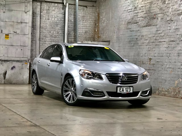 Used Holden Calais VF MY14 V Mile End South, 2014 Holden Calais VF MY14 V Silver 6 Speed Sports Automatic Sedan