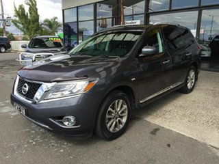 2014 Nissan Pathfinder R52 ST-L (4x4) Grey Continuous Variable Wagon.