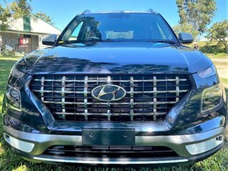 2021 Hyundai Venue QX.V3 MY21 Elite The Denim 6 Speed Automatic Wagon