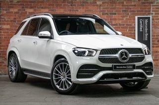 2020 Mercedes-Benz GLE-Class V167 800+050MY GLE300 d 9G-Tronic 4MATIC Diamond White Bright 9 Speed.