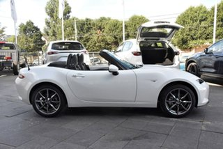 2021 Mazda MX-5 ND GT SKYACTIV-Drive White 6 Speed Sports Automatic Roadster