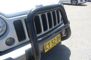 2005 Jeep Cherokee KJ MY2005 Sport Silver 5 Speed Automatic Wagon