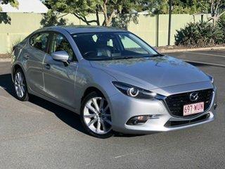 2016 Mazda 3 BN5236 SP25 SKYACTIV-MT GT Silver 6 Speed Manual Sedan.