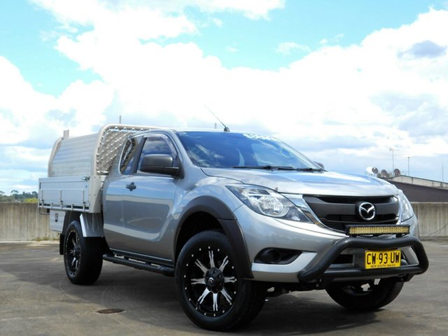 Used Mazda BT-50 UP0YF1 XT Freestyle 4x2 Hi-Rider Brookvale, 2015 Mazda BT-50 UP0YF1 XT Freestyle 4x2 Hi-Rider Grey 6 Speed Sports Automatic Cab Chassis