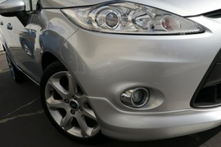 2010 Ford Fiesta WS Zetec Silver 5 Speed Manual Hatchback.