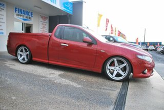 2009 Ford Falcon FG R6 Red 6 Speed Manual Utility