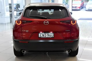 2020 Mazda CX-30 DM2WLA G25 SKYACTIV-Drive Touring Red 6 Speed Sports Automatic Wagon.