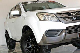 2016 Isuzu MU-X UC MY15.5 LS-M (4x4) White 5 Speed Automatic Wagon.