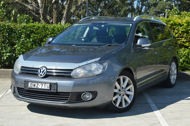 Used Volkswagen Golf VI MY12 103TDI DSG Comfortline Maitland, 2011 Volkswagen Golf VI MY12 103TDI DSG Comfortline Grey 6 Speed Sports Automatic Dual Clutch Wagon