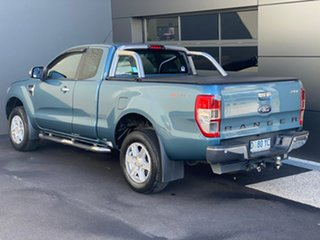 2014 Ford Ranger PX XLT Super Cab 4x2 Hi-Rider Blue 6 Speed Sports Automatic Utility